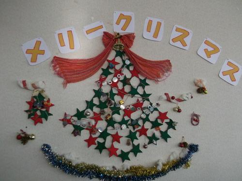 「さをり」と「手芸」でクリスマス♪_a0316554_22394650.jpg