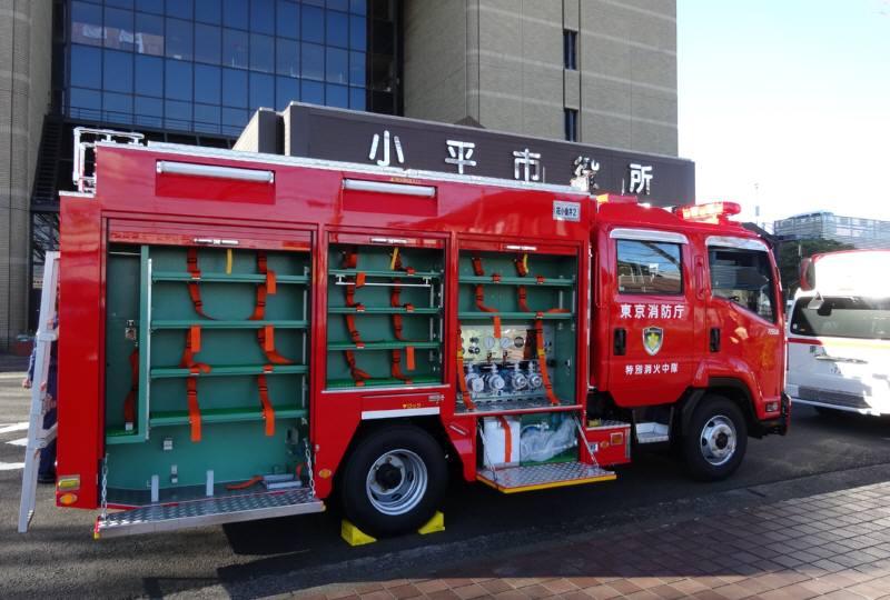 新しい救急車、消防車お披露目_f0059673_183918100.jpg