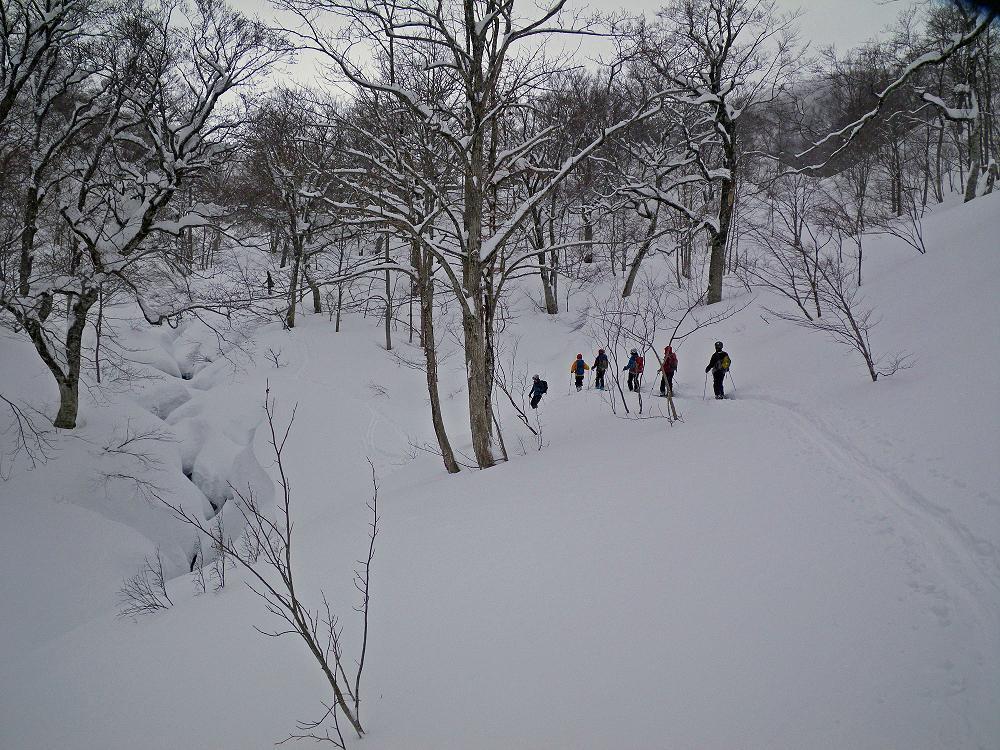ホワイトアウトの湯殿山 ~ 2013年12月23日_f0170180_22372027.jpg