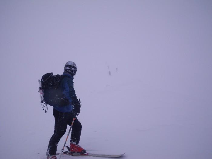 ホワイトアウトの湯殿山 ~ 2013年12月23日_f0170180_22491537.jpg