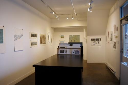 グランビルアイランドで日本人銅版画作家の作品と出会う♪_d0129786_158321.jpg