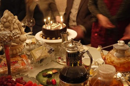 O邸にてクリスマスパーティー♡ _d0129786_18431576.jpg
