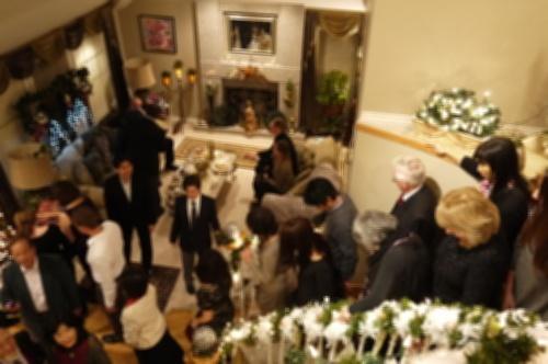 O邸にてクリスマスパーティー♡ _d0129786_18541973.jpg