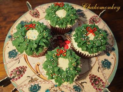 クリスマスカップケーキデコレーションレッスン_f0238789_2029574.jpg