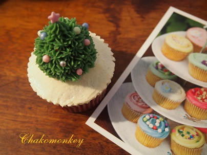 クリスマスカップケーキデコレーションレッスン_f0238789_2032967.jpg