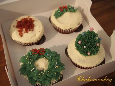 クリスマスカップケーキデコレーションレッスン_f0238789_20332043.jpg