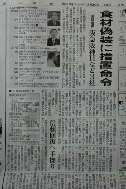 食品偽装と食べる行為の重要性、人間の機能と食べ物の関係、田村厚生大臣に「食」教育の重要性嘆願_d0181492_7395989.jpg