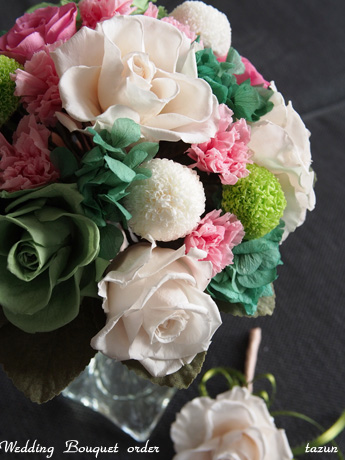 【Oval bouquet】_d0144095_20333955.jpg