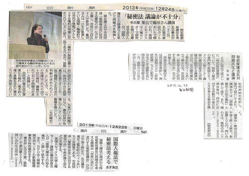 世界の流れに逆行する秘密保護法12・23集会(名古屋)_c0241022_15404432.jpg