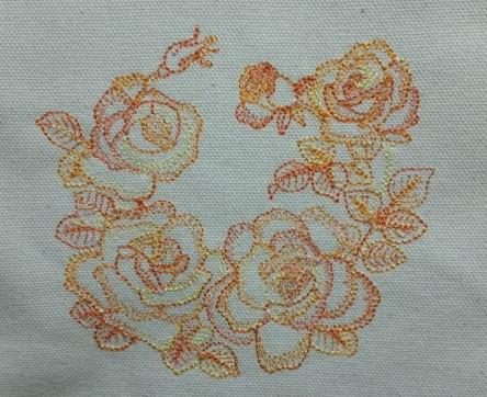 薔薇の段染め刺繍_c0316026_21272416.jpg
