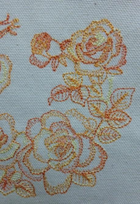 薔薇の段染め刺繍_c0316026_21275304.jpg