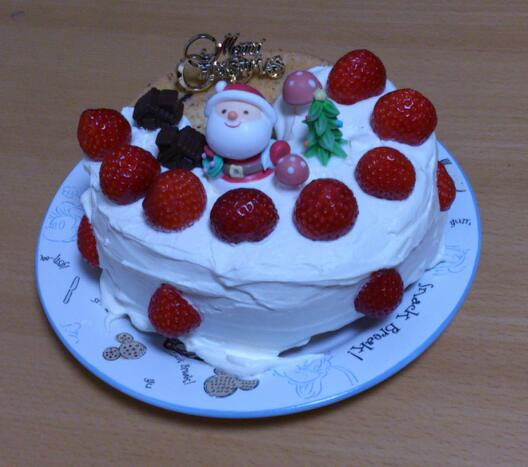クリスマスケーキ終わりました_d0155870_23222654.jpg