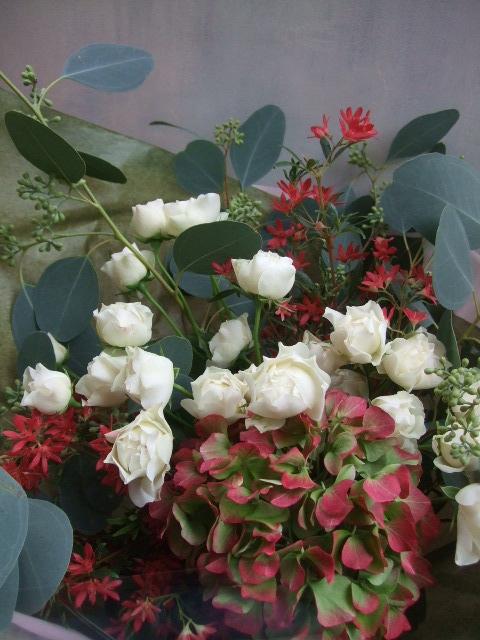 オークリーフ(クリスマスの花束)_f0049672_11102927.jpg