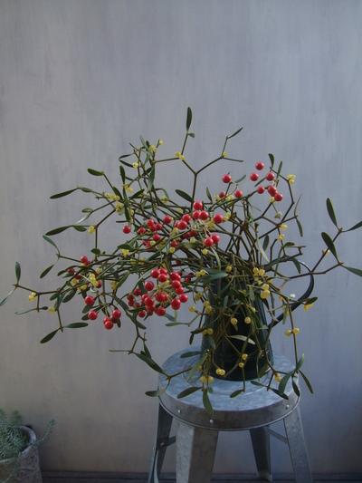オークリーフ(クリスマスの花束)_f0049672_11133189.jpg