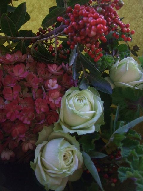 オークリーフ(クリスマスの花束)_f0049672_1193558.jpg