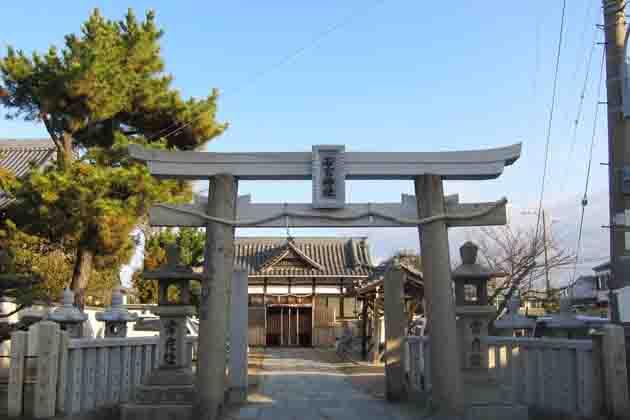 若宮神社と宝蔵寺(毘沙門天王)_a0045381_814991.jpg