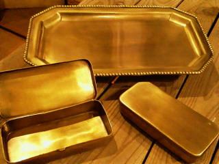 真鍮のプレートとケース_f0255704_18425613.jpg