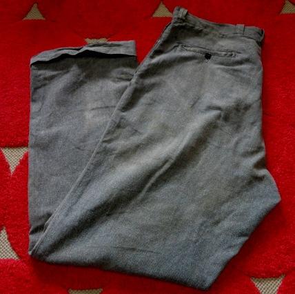 12月28日(土)入荷商品 追加分! 40-50'S ブラックシャンブレーWORK PANTS_c0144020_16452779.jpg