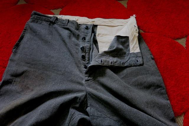 12月28日(土)入荷商品 追加分! 40-50'S ブラックシャンブレーWORK PANTS_c0144020_16452939.jpg