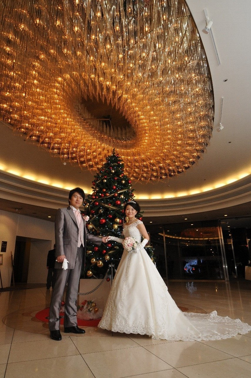新郎新婦様からのメール 椿山荘東京さまへ 1年後の結婚記念日_a0042928_18571025.jpg