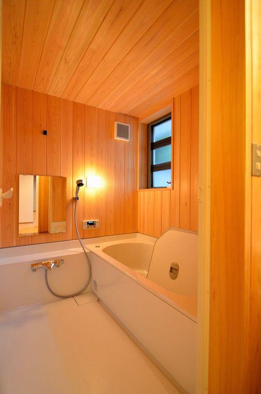 Fさんの家 「とりあえず」完成(6) 洗面・浴室_a0039934_17411260.jpg