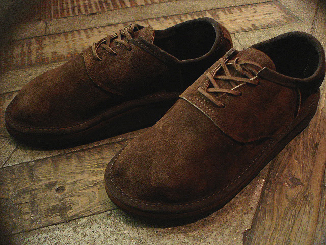 NEW : THE SANDALMAN [Bullhide Shoe] & [Garment Split Shoe] !!_a0132147_042086.jpg