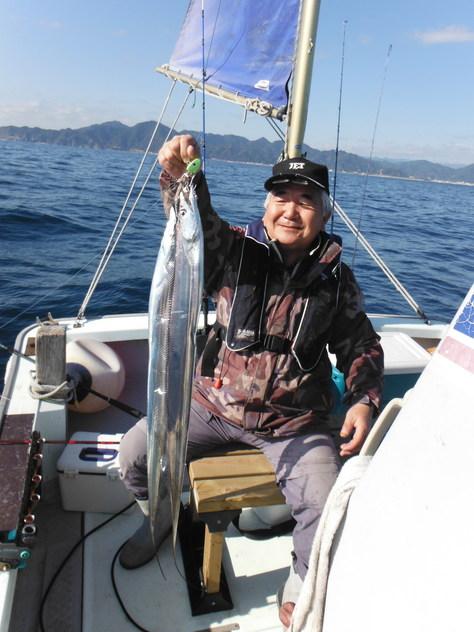 安倍川沖タチ釣り 2_f0175450_3303973.jpg