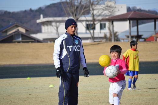 栃木SCのサッカー教室_d0101562_1622519.jpg