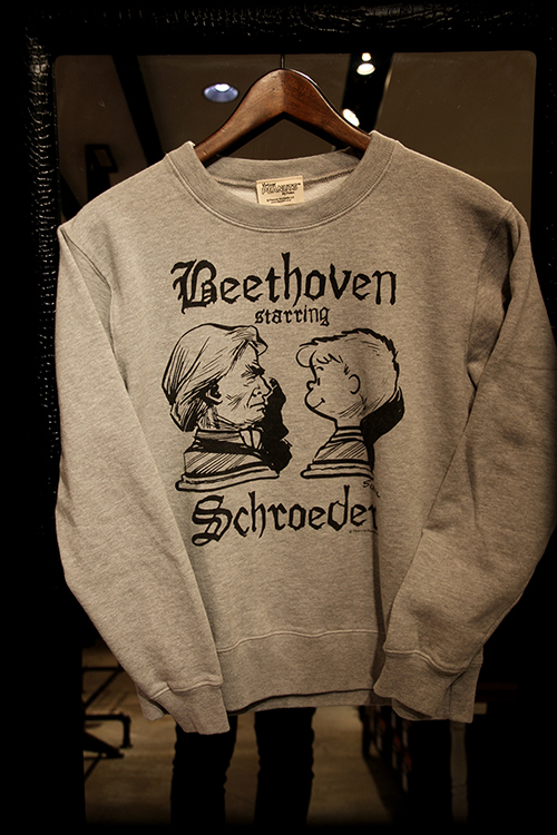 "PEANUTS別注 ""SCHROEDER starring BEETHOVEN_e0325662_18374554.jpg"
