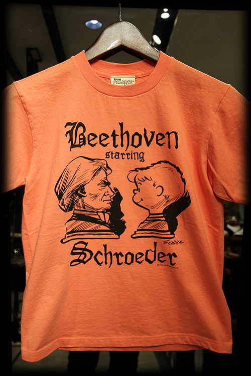 "PEANUTS別注 ""SCHROEDER starring BEETHOVEN_e0325662_18391549.jpg"
