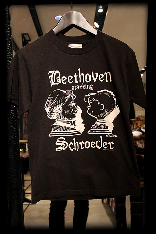 "PEANUTS別注 ""SCHROEDER starring BEETHOVEN_e0325662_1843513.jpg"