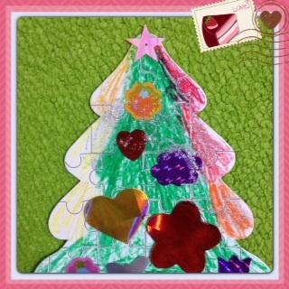 Christmas lesson Sarah 先生_a0285570_16195355.jpg