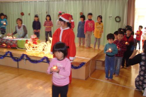 サンタがやってきた☆★☆_f0195982_13342588.jpg