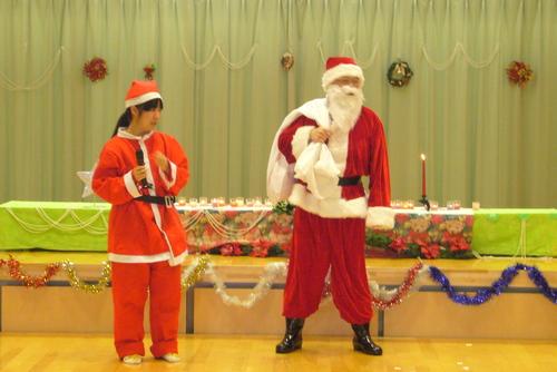 サンタがやってきた☆★☆_f0195982_13412999.jpg