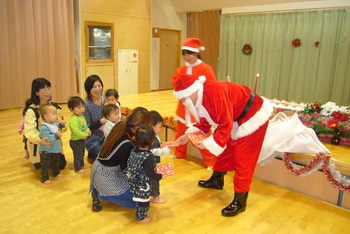 サンタがやってきた☆★☆_f0195982_13435623.jpg