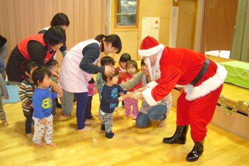 サンタがやってきた☆★☆_f0195982_13443491.jpg