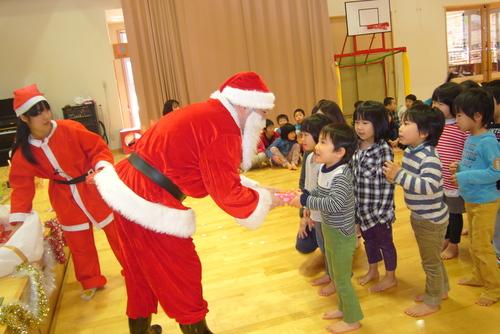 サンタがやってきた☆★☆_f0195982_13501877.jpg