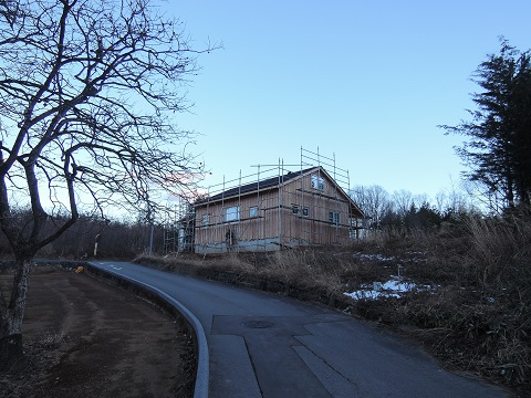高根町K松さん邸の現場より 9_a0211886_103183.jpg