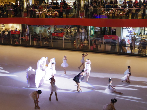子供たちの太古でのスケートレッスンとスケートショー_e0123104_15584918.jpg