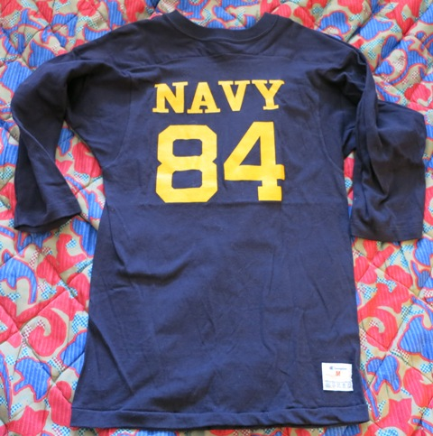 12月28日(土)入荷 追加商品!U.S NAVY フットボールTシャツ!_c0144020_17494887.jpg