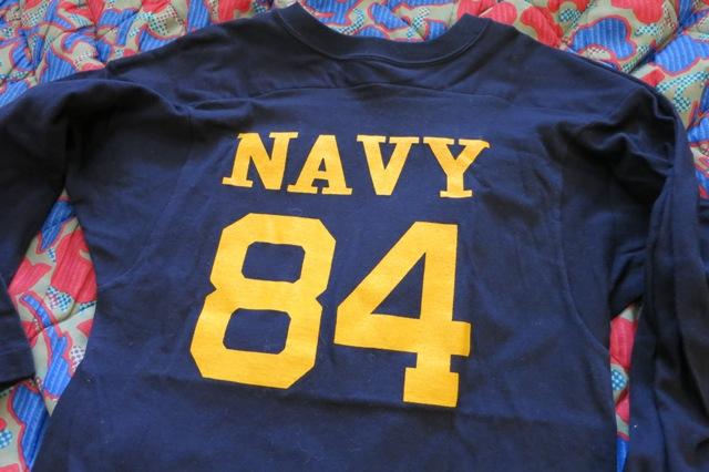 12月28日(土)入荷 追加商品!U.S NAVY フットボールTシャツ!_c0144020_17494913.jpg