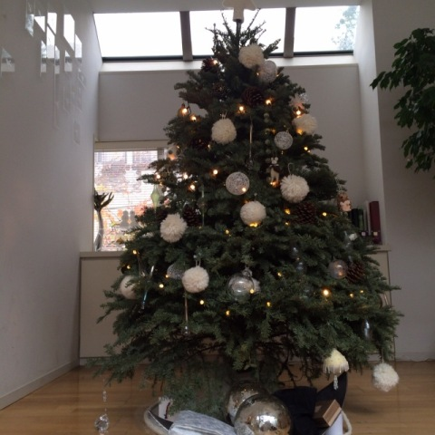White & Gold でクリスマスデコレーション_f0083294_8525412.jpg