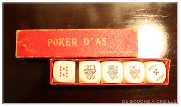 poker d\'as ポーカーのサイコロ_d0184921_16324896.jpg