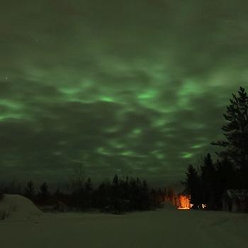 カナダ ホワイトホース滞在中に見たオーロラダイジェスト_c0060143_1243135.jpg