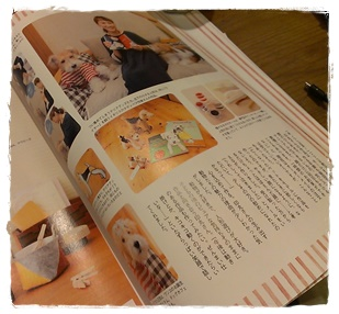 雑誌に掲載されました My work appeared in a magazine_a0205848_2551137.jpg