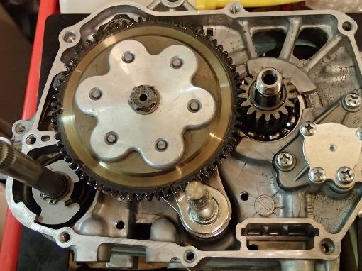 カブ50・4速化/シフトドラムストッパー対策_a0279883_0374556.jpg