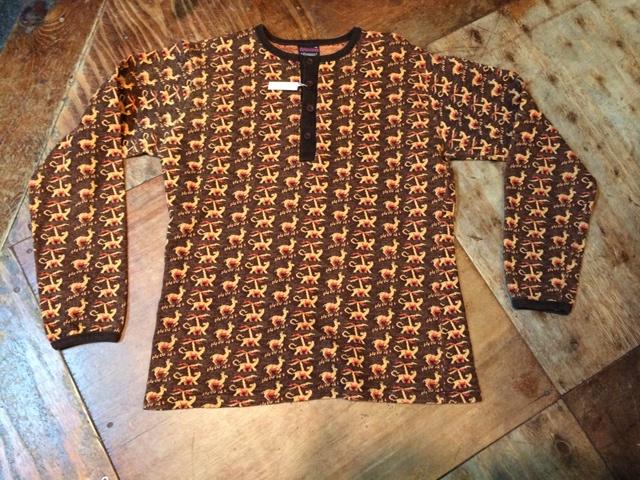 70'S CAMPUSジャガード ヘンリーTシャツ!_c0144020_145949100.jpg