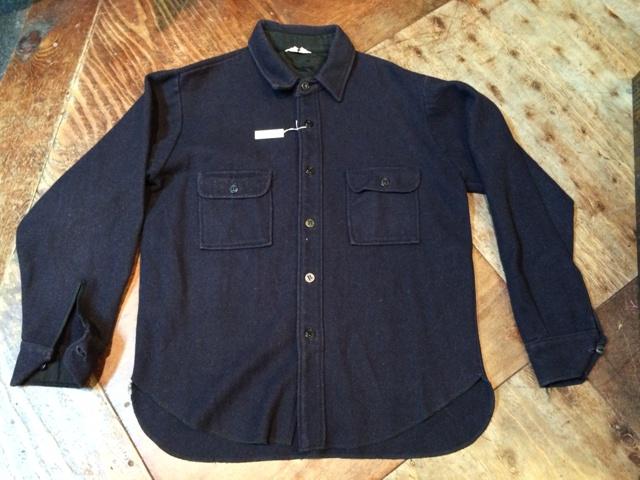 12/29(日)入荷!60'S-70'S イカリボタン WOOL C.P.Oシャツ!_c0144020_151327.jpg