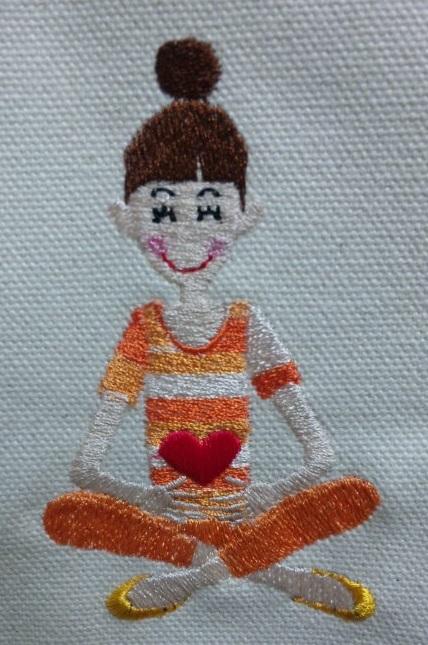 珍しいコーヒーと、女の子の刺繍♪_c0316026_21423143.jpg