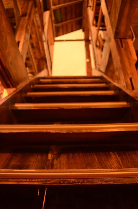 ミルの階段。_b0207642_1345544.jpg